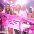 Emilie Nef Naf, Anaïs Camizuli et Benoît Dubois parlent de l'argent gagné grâce à leur victoire dans Secret Story, le 29 août 2016.