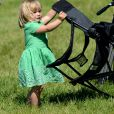 Mia Tindall lors du Festival of British Eventing à Gatcombe Park le 6 août 2016