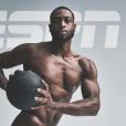 """Dwyane Wade en couverture du numéro spécial """"Body"""" d'ESPN Magazine, été 2016."""