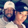 Dwyane Wade et Gabrielle Union, photo Instagram été 2016.