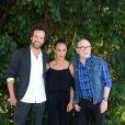 Romain Duris, Alice Belaidi et Michel Blanc - 9ème Festival du Film Francophone d'Angoulême - Jour 6 le 27 août 2016. © Coadic Guirec / Bestimage