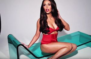 Kim Kardashian assume