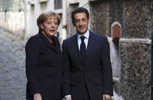 REPORTAGE PHOTOS : Quand Nicolas Sarkozy emmène Angela Merkel... chez Carla Bruni !