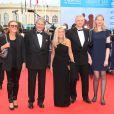 Le maire de Deauville Philippe Augier avec sa femme Béatrice, Jane D. Hartley, ambassadrice des USA en France - Ouverture du 42ème Festival du cinéma Américain de Deauville le 2 septembre 2016. © Denis Guignebourg/Bestimage