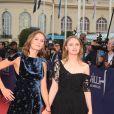 Ana Girardot et Sara Forestier - Ouverture du 42ème Festival du cinéma Américain de Deauville le 2 septembre 2016. © Denis Guignebourg/Bestimage