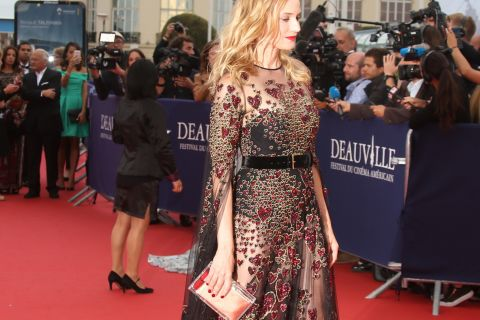 Deauville - Diane Kruger post-rupture : Sexy en transparence pour ouvrir le bal