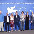 Andrea Scrosati, James Cromwell, Ludivine Sagnier, Jude Law, Paolo Sorrentino, Cécile de France, Scott Sheperd, Silvio Orlando lors du photocall du film ''The Young Pope'' lors du 73ème Festival du Film de Venise, la Mostra, le 3 septembre 2016.