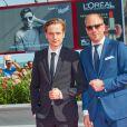 Anton von Lucke, Johann von Bülow lors de la première du film ''Frantz'' pendant le 73ème Festival du Film de Venise, la Mostra, le 3 septembre 2016.