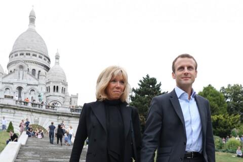Emmanuel Macron et Brigitte : Libres comme l'air et amoureux à Montmartre