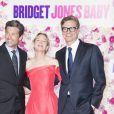 """Patrick Dempsey, Renée Zellweger et Colin Firth - Avant-première parisienne du film """"Bridget Jones Baby"""" au Grand Rex à Paris, France, le 6 septembre 2016. © Olivier Borde/Bestimage"""