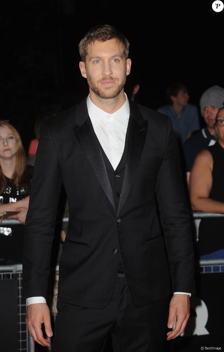"""Calvin Harris à la soirée """"GQ Men of the Year Awards"""" à """"The Tate Modern"""" à Londres. Le 6 septembre 2016 © Ferdaus Shamim / Zuma Press / Bestimage"""