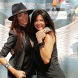 "Julia, Nathalie - Photocall des ""Anges 7"" au Barrio Latino à Paris, le 26 mai 2015."