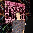 Exclusif - Julie Gayet assiste au Festival FNAC LIVE, parvis de l'Hôtel de Ville à Paris, France, le 21 juillet 2016. © Lise Tuillier/Bestimage