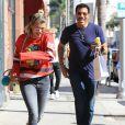 Lionel Richie et s fille Sofia Richie passent la journée ensemble à Beverly Hills le 2 septembre 2016.