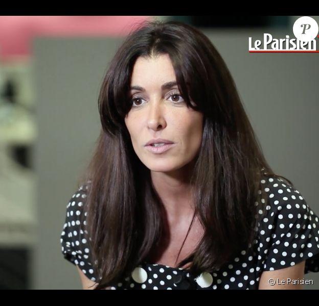 Jenifer lors de son interview dans les locaux du Parisien, le 8 septembre 2016