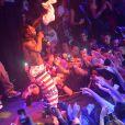Lil Wayne au Gotha Club à Cannes, le 22 mai 2014.