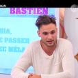 """Bastien - """"Secret Story 10"""" sur NT1. """"Hebdo"""" du 15 septembre 2016."""