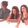 """Mélanie, Sarah et Fanny nominées - """"Secret Story 10"""" sur NT1. """"Hebdo"""" du 15 septembre 2016."""