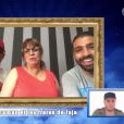 """Jaja écoute le message de Sa maman et ses frères -""""Secret Story 10"""" sur NT1. """"Hebdo"""" du 15 septembre 2016."""