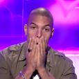 """Marvin choqué par une mission de la Voix - """"Secret Story 10"""" sur NT1. """"Hebdo"""" du 15 septembre 2016."""