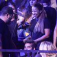"""Kendji Girac au concert de Justin Bieber à l'AccorHotels Arena à Paris dans le cadre de sa tournée """"Purpose World Tour"""", le 20 septembre 2016."""