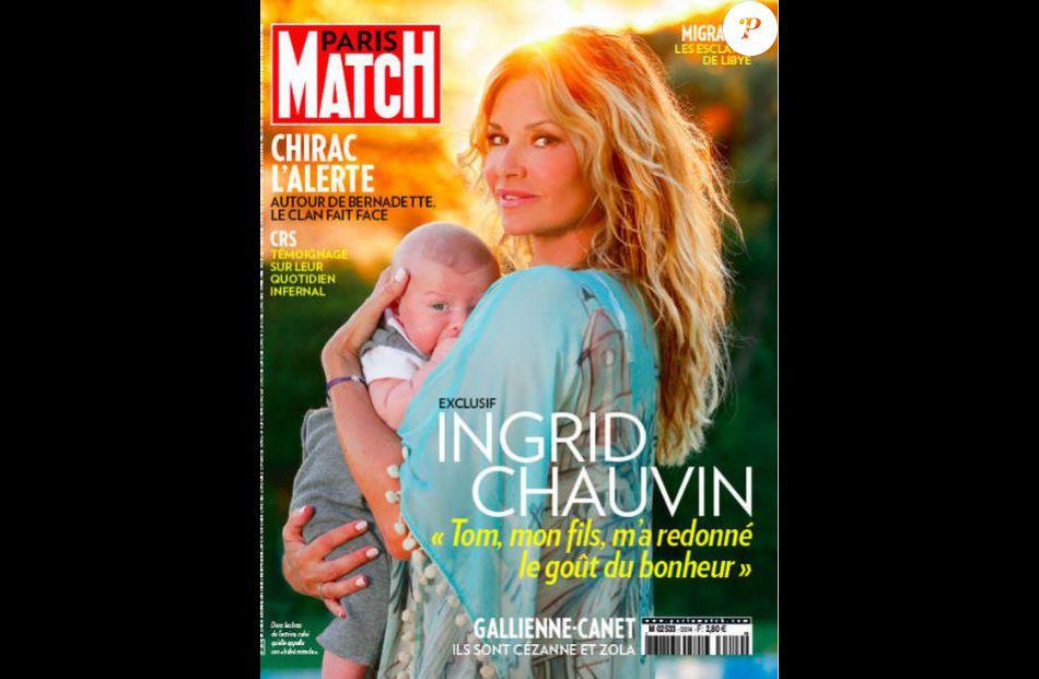 6c8f78ff550e Ingrid Chauvin, maman de Tom