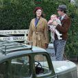 Brad Pitt et Marion Cotillard tournent une scène du prochain film de Robert Zemeckis à Londres le 31 mars 2016. Le film est un thriller romantique qui se déroule pendant la deuxième guerre mondiale.