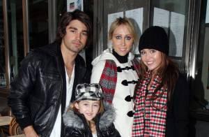 REPORTAGE PHOTOS : Miley Cyrus, Thanksgiving avec son amoureux et sa famille !