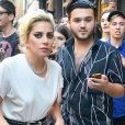 Lady Gaga quitte un studio d'enregistrement à New York, le 16 septembre 2016