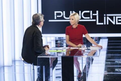 Jean-Luc Mélenchon agacé par les questions d'une Laurence Ferrari... punchy!