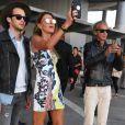 Anna Dello Russo- Défilé de mode Versace collection prêt-à-porter Printemps/Eté 2017 à Milan, le 23 septembre 2016.
