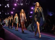 Fashion Week : Gigi et Bella Hadid, Naomi Campbell... canons pour Versace