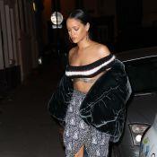 Rihanna à Paris : Oiseau de nuit, à l'approche de son grand défilé