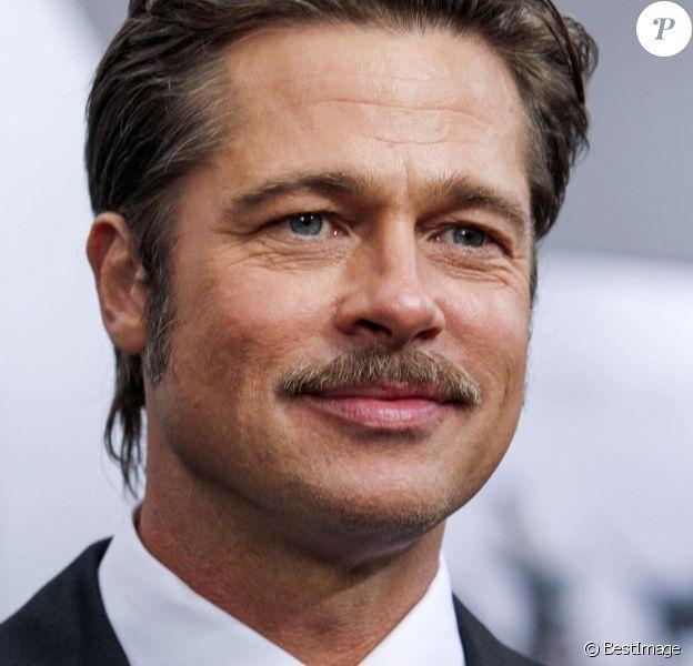 """Brad Pitt - Première de """"Fury"""" à Washington le 15 octobre 2014."""