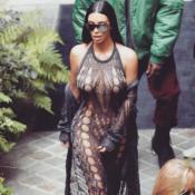 Fashion Week : Kim Kardashian, sortie sans encombre pour Balmain