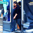 Janet Jackson, enceinte de son premier enfant à 50 ans, a été aperçue pour une rare sortie dans les rues de Londres mardi 26 septembre 2016