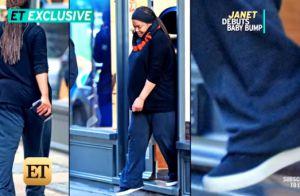 Janet Jackson enceinte à 50 ans : La star dévoile son gros baby bump
