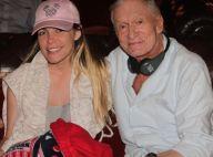 Hugh Hefner mourant ? Le patron de Playboy réplique en photo