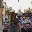 Crystal Hefner est à Disneyland. Photo publiée sur Instagram, le 30 septembre 2016