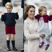 Kate Middleton et William: L'adorable au revoir de George et Charlotte au Canada