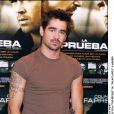 Colin Farrell présentant le film La Recrue en 2003