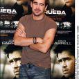 Colin Farrell présente son film La Recrue à Madrid en 2003