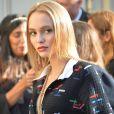 """Lily-Rose Depp ressemble de plus en plus à sa mère - Arrivées au défilé de mode prêt-à-porter printemps-été 2017 """"Chanel"""" à Paris. Le 4 octobre 2016 © CVS-Veeren / Bestimage"""