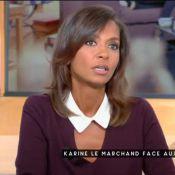 Karine Le Marchand agacée par Patrick Cohen : Un échange tendu en direct...