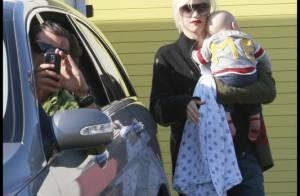 PHOTOS : Après nous avoir longtemps caché son petit Zuma, Gwen Stefani ne rate plus une occasion de nous le montrer !