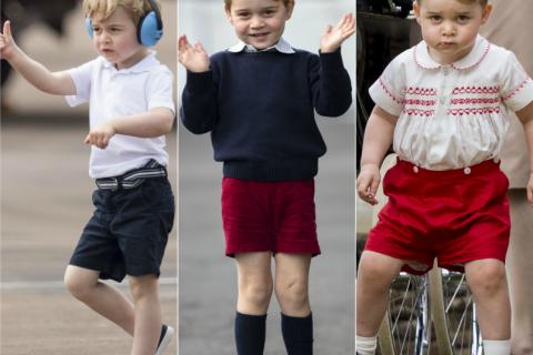 George de Cambridge et ses shorts : il y a une raison... et ce n'est pas fini !