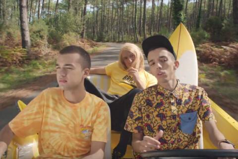 Jean Dujardin : Brice de Nice s'essaie au rap avec Bigflo & Oli et s'éclate !