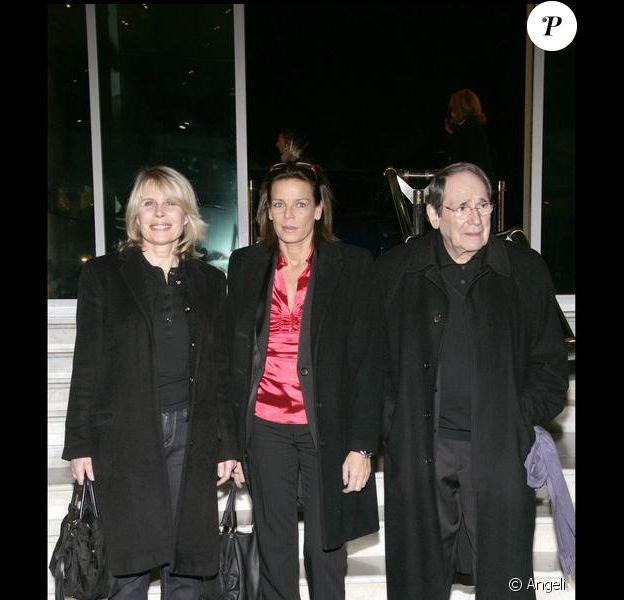 Stéphanie de Monaco au gala Fight Aids Monaco avec Candice Patou et Robert Hossein