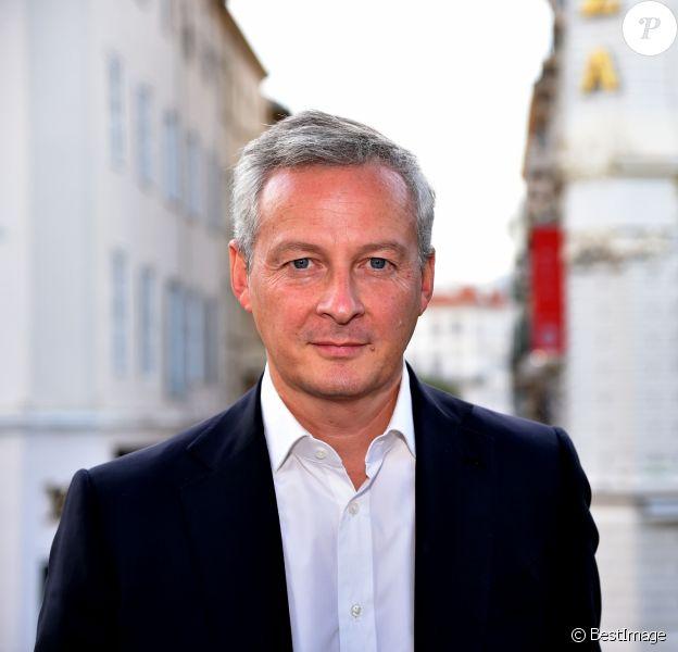 Bruno Le Maire, candidat à la primaire de la droite, en meeting de campagne à l'hôtel Plaza à Nice, le 7 octobre 2016