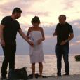 """Jenifer sexy dans l'émission """"Les copains d'abord en Corse"""" diffusée le 15 octobre 2016 sur France 2."""